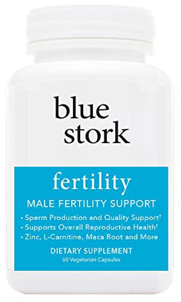Blue Stork Fertility: Male Fertility Support, for Sperm Production, Reproductive Health