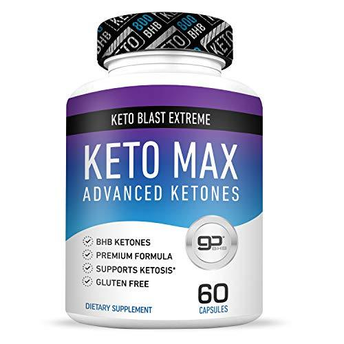 Best Keto Pills from Shark Tank - Real Weight Loss - Lose Unwanted Pounds - Burn Fat Fast - Weight Loss for Women & Men - 60 Capsules