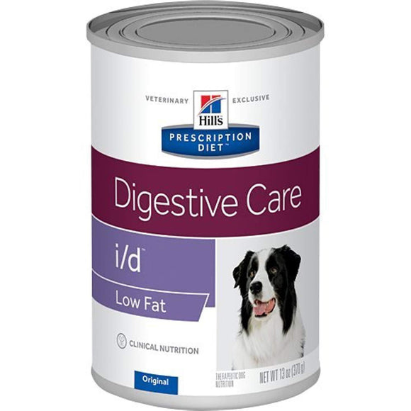 Hill's Prescription Diet i/d Digestive Care Original Low Fat Canned Dog Food 12/13 oz