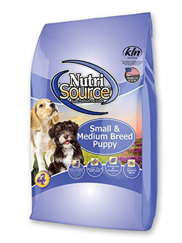 Nutrisource Sm/Med Breed Dry Puppy Food