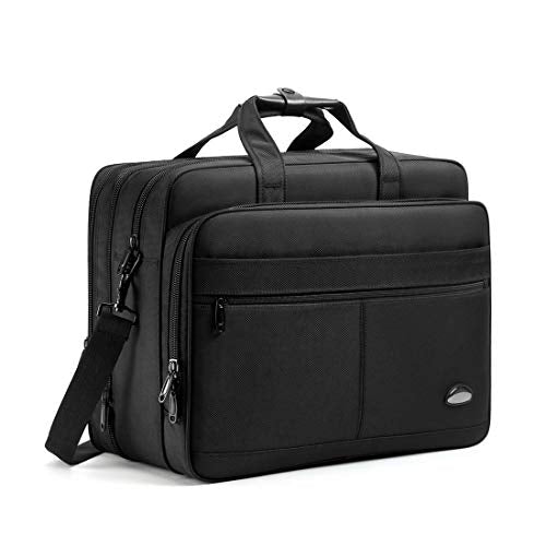 18-18.5 inch Laptop Bag,Water Resisatant Business Laptop Briefcase,Expandable High Capacity Shoulder Bag