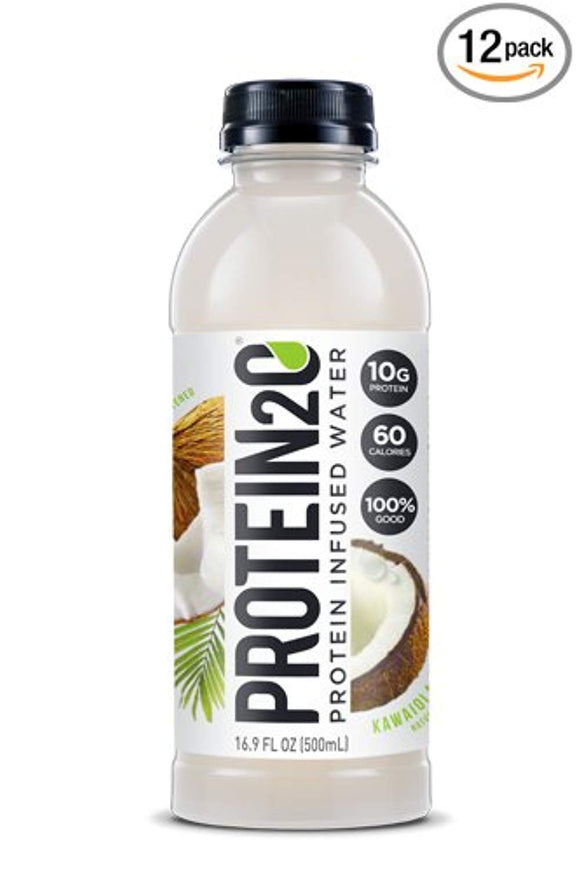 Protein2o Low Calorie Protein Infused Water, 10g Whey Protein Isolate, (16.9 oz, Pack of 12)