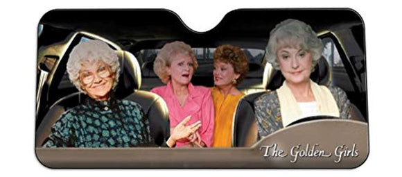 Golden Girls Windshield Sun Shade Visor - Pop Culture Novelty Car Accessory