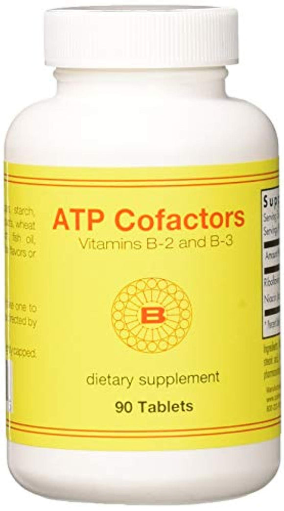 Optimox - ATP Cofactors, Support Energy Production with Vitamins B2, B3