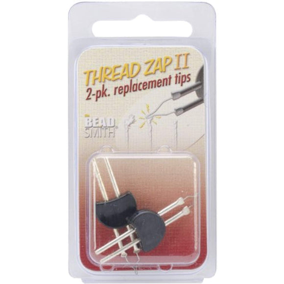 Beadsmith Thread Zap II Replacement Tip for TZ1300, 2-Pack