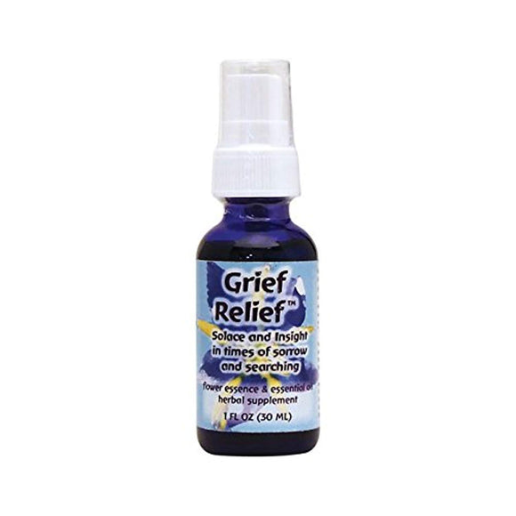Flower Essence Services Flourishing Formulas Grief Herbal Supplement Spray, 1 Ounce