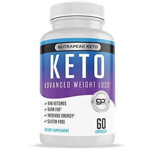 Best Keto Pills - Weight Loss Supplements to Burn Fat Fast - Boost Energy and Metabolism - 60 Capsules