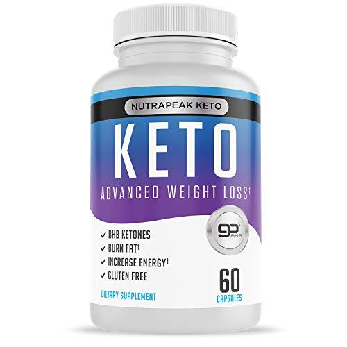 Best Keto Pills Weight Loss Supplements To Burn Fat Fast Boost Energy And Metabolism 60 Capsules