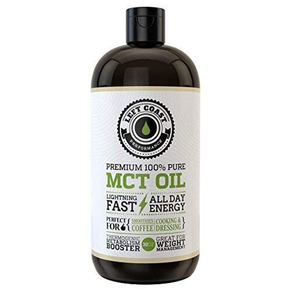 MCT Oil Keto derived only from Sustainable Coconuts. C8 and C10. Keto Diet
