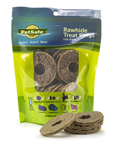 Busy Buddy Gnawhide Ring Refills MEDIUM (16 treats)