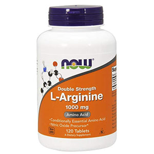 NOW Supplements, L-Arginine 1000 mg, Amino Acid, 120 Tablets