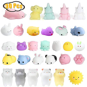 Andshow Mochi Squishy Toys 30 Pcs Squishies Party Favors for Kids