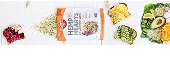 Manitoba Harvest Hemp Hearts Raw Shelled Hemp Seeds, 1lb; with 10g Protein & 12g Omegas per Serving, Non-GMO, Gluten Free