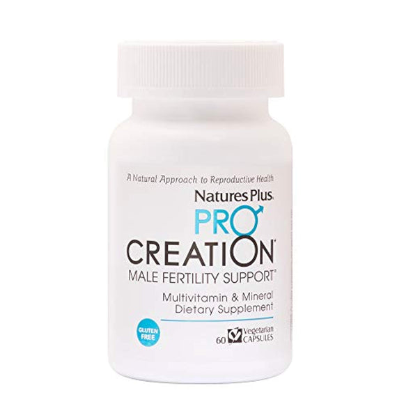 NaturesPlus Procreation Men  - Natural Male Fertility Support, Multivitamin & Mineral Supplement