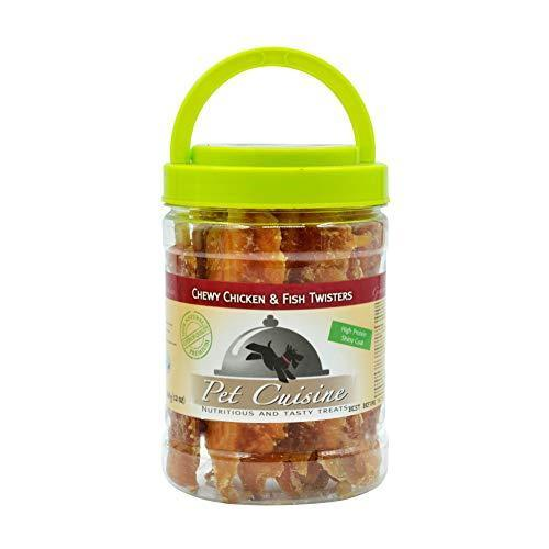 Pet Cuisine Dog Treats Puppy Chews Training Snacks,Chewy Chicken & Fish Twisters