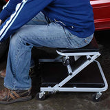 "Pro-Lift C-2036D Grey 36"" Z-Creeper Seat"
