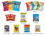 Ultimate Snack Assortment Care Package - Chips, Crackers, Cookies, Nuts, Bars - School, Work, Military or Home