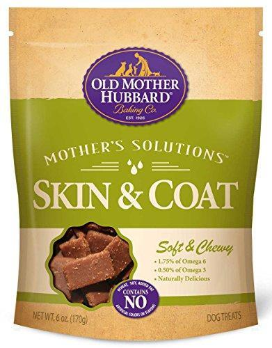 Old Mother Hubbard Mother's Solutions Soft & Chewy Natural Dog Treats, 6-Ounce Bag