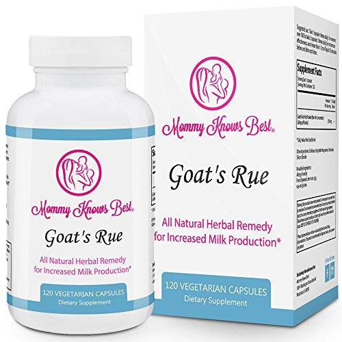 Goats Rue Lactation Aid Support Supplement for Breastfeeding Mothers - 120 Vegetarian Capsules