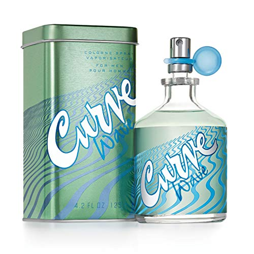 Curve Wave  for Men Cologne Spray, 4.2 Fl. Oz.