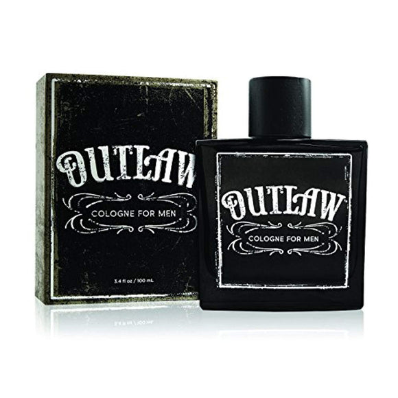 Outlaw Cologne - Natural and Authentic Fragrance Spray for Men