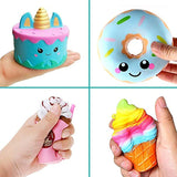 KYW Jumbo squishies, Slow Rising Toy 4 PCS Cake