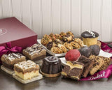 Dulcet Party Gift Box – Includes an Assortment of Individually Wrapped Pastries in a Variety of Flavors. Elegant Gift Box.
