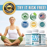 Premium Keto Diet Pills - Utilize Fat for Energy with Ketosis - Boost Energy & Focus, Manage Cravings, Support Metabolism