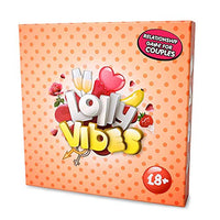 Exclusive Grown Up Game for Couples - Lolly Vibes - Exciting Questions, Funny Tasks, Unusual Challenges - Perfect Get to Know Each Other