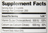 21st Century Calcium Citrate Plus D3 Maximum Tablets, 400 Count