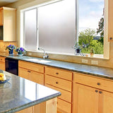 Coavas Window Film Non Adhesive Frosted Home Office Film Privacy Window Sticker