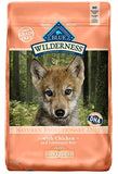Blue Buffalo Wilderness High Protein Grain Free, Natural Puppy Large Breed Dry Dog Food