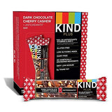 Kind Bars, Dark Chocolate Cherry Cashew + Antioxidants, Gluten Free, 1.4oz