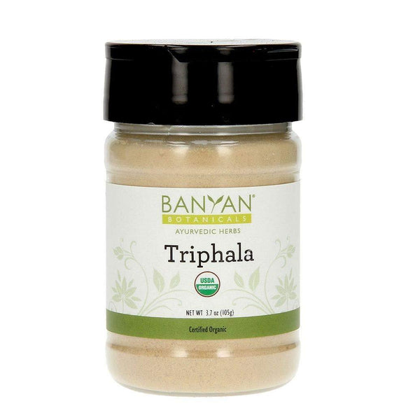 Banyan Botanicals Organic Triphala Powder - Spice Jar - USDA Organic - Balancing Formula for Detoxification & Rejuvenation *