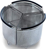 3-Piece Divided Steamer Basket
