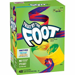 Betty Crocker Fruit By The Foot Variety Pack, 48 ct.