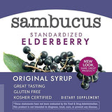 Nature's Way Original Sambucus Elderberry Syrup, Herbal Supplements, Gluten Free, Vegetarian, 8 Ounce (Packaging May Vary)