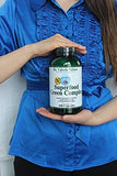 Spirulina & Alfalfa ~ 400 Capsules - 9 Cents/Cap - Superfood Green by Dr. Valerie Nelson ~ Extra Large Bottle