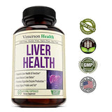 Liver Cleanse & Detox Support Supplement - Natural Non-GMO Herbal Blend