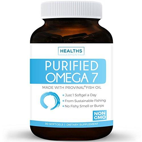 Best Purified Omega 7 Oil - Provinal Omega 7 (NON-GMO) All The Palmitoleic Acid EE Your Body Needs – Made From Peruvian Anchovy Fish