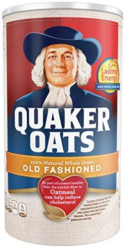 Quaker Oats, Old Fashioned, 18 Oz (Pack of 5)