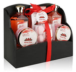 Spa Gift Basket with Heavenly Garden Rose fragrance - Gift set