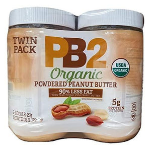 PB2 Organic Powdered Peanut Butter (2/16 Ounce)(Net Wt 32 Ounce), 32 Ounce