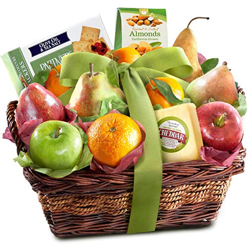 Classic Gourmet Fruit Basket Gift