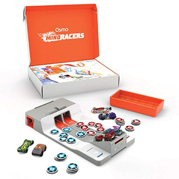 Osmo - Hot Wheels MindRacers Game - Ages 7+ - Race a Real Hot Wheel On Screen - For iPad