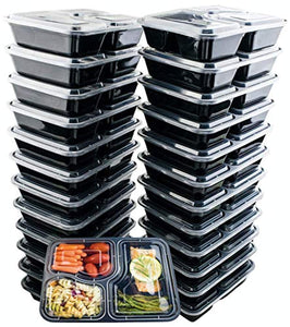 24 Pack of 36 Ounce Lunch To Go Containers