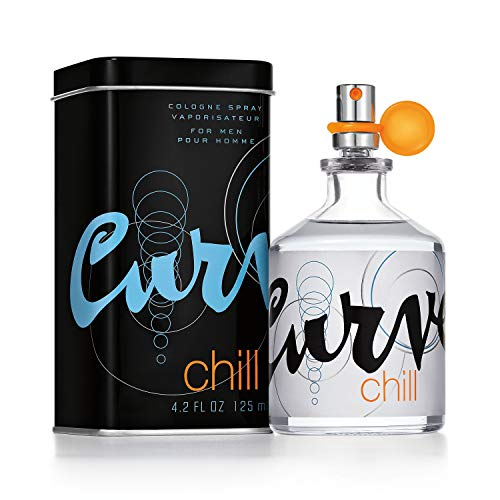 Curve Chill for Men Cologne Spray, 4.2 Fl. Oz.