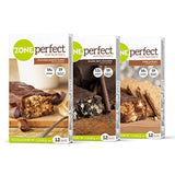 ZonePerfect Nutrition Snack Bars, Variety Pack, (36 Count)