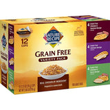 Nature's Recipe Grain Free Chicken Variety Pack Wet Dog Food