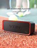 Vtin Portable Bluetooth Speaker with Bass Boost Tech, IPX6 Waterproof Outdoor Portable Speaker for Beach/Party/Dance